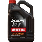 Моторное масло MOTUL Specific VW 504/00/507/00 5w-30 5 л