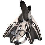 Купить Набор для плавания Wave MSF-1390S65F69 силикон.черный (маска.трубка.ласты) купить недорого низкая цена