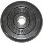 Купить Диск обрезиненный Barbell 31 мм 2.5 кг купить недорого низкая цена