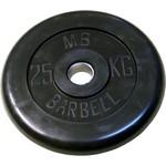 Купить Диск обрезиненный Barbell 31 мм 25 кг отзывы покупателей специалистов владельцев