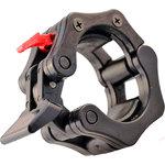 Купить Замок DFC Lock-Jaw с фиксатором для грифа 50 мм черный нейлон (комплект) купить недорого низкая цена