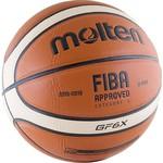 Купить Мяч баскетбольный Molten BGF6X (р. 6)технические характеристики фото габариты размеры