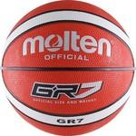 Купить Мяч баскетбольный Molten BGR7-RW (р. 7) купить недорого низкая цена