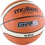 Купить Мяч баскетбольный Molten BGR5-OI (р. 5)технические характеристики фото габариты размеры
