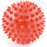 Купить Мяч массажный Palmon d.9 см. (красный) купить недорого низкая цена