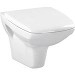 Унитаз подвесной Cersanit Carina New Clean ON с сиденьем микролифт (S-MZ-CARINA-COn-DL-w): купить недорого в интернет-магазине, низкие цены