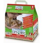 Наполнитель Cat's Best Eko Plus древесный комкующийся для кошек 2,1кг (5л)
