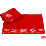 Полотенце Hobby home collection Meyve bahcesi 30x50 см красный (1501000792)
