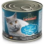 Консервы Leonardo Quality Selection Rich In Fish c рыбой для кошек 200г (742555)