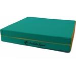 Купить Мат PERFETTO SPORT № 8 (100 х 200 10) складной 1 сложение зелёно/жёлтый (1829) купить недорого низкая цена