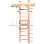 Купить Детский спортивный комплекс Карусель 2Д.02.02 к стене (с тренажером для осанки №2) Светлыйтехнические характеристики фото габариты размеры