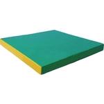 Купить Мат КМС № 2 (100 х 100 10) зелёно/жёлтый отзывы покупателей специалистов владельцев
