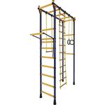 Купить Детский спортивный комплекс Лидер П-01 сине/жёлтый купить недорого низкая цена