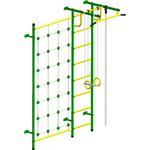 Купить Детский спортивный комплекс Пионер С3СМ зелёно/жёлтый купить недорого низкая цена