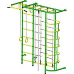 Купить Детский спортивный комплекс Пионер С5ЛМ зелёно/жёлтый купить недорого низкая цена
