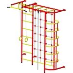 Купить Детский спортивный комплекс Пионер С5С красно/жёлтый купить недорого низкая цена