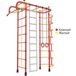 Купить Детский спортивный комплекс Пионер 2М красно/жёлтый отзывы покупателей специалистов владельцев