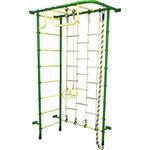 Купить Детский спортивный комплекс Пионер 8ЛМ зелёно/жёлтыйтехнические характеристики фото габариты размеры