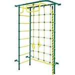 Купить Детский спортивный комплекс Пионер 8М зелёно/жёлтый купить недорого низкая цена