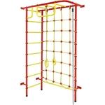 Купить Детский спортивный комплекс Пионер 8М красно/жёлтый купить недорого низкая цена