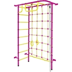 Купить Детский спортивный комплекс Пионер 8М пурпурно/жёлтый отзывы покупателей специалистов владельцев