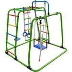 Купить Детский спортивный комплекс Формула здоровья Игрунок Т Плюс салатовый-радуга купить недорого низкая цена