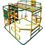 Купить Детский спортивный комплекс Формула здоровья Мурзилка S зелёный-радугатехнические характеристики фото габариты размеры