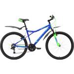 Купить Велосипед Stark Slash 26.1 V сине-зеленый 18 купить недорого низкая цена