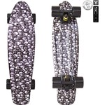 "Скейтборд RT 401G-Sc Fishskateboard Print 22"" винил 56,6х15 с сумкой Scull"