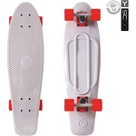 "Скейтборд RT 402-Gr Big Fishskateboard 27"" винил 68,6х19 с сумкой GREY/red"