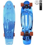 "Скейтборд RT 402H-Bl Big Fishskateboard metallic 27"" винил 68,6х19 с сумкой BLUE/brown"