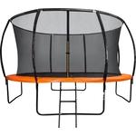 Купить Батут внутр енняя сетка, лестница DFC Trampoline Kengoo 14FT-TR-E-BAS купить недорого низкая цена