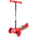 Самокат 3-х колесный Small Rider Cosmic Zoo Scooter Красный (1233592/цв 1233598)