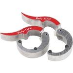 Купить Замки Body Solid алюминиевые ROEPKE, (пара) BSTROC-NAT купить недорого низкая цена