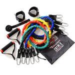 Купить Набор Original Fit.Tools эспандеров трубчатых в защитных чехлах (5 шт.) и аксессуаров сумке FT-EXSET-PRO купить недорого низкая цена