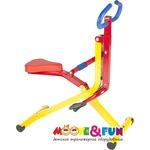 Купить Тренажер Moove&Fun механический ''Райдер''(наездник) (TFK-08/SH-08) отзывы покупателей специалистов владельцев