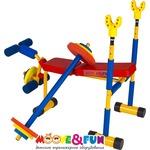 Купить Тренажер детский Moove&Fun подставка под штангу (скамья для жима) SH-06 купить недорого низкая цена
