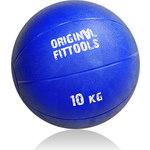 Купить Мяч Original FitTools тренировочный 10 кг FT-BMB-10 купить недорого низкая цена