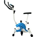 Купить Велотренажер DFC VT-8013/ B8013 белый/голубой купить недорого низкая цена