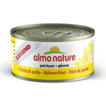 Консервы Almo Nature Legend Adult Cat with Chicken Fillet с куриным филе для кошек 70г (0844)