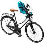 Купить Детское велосипедное кресло Thule Yepp Mini, цвет морской волный купить недорого низкая цена