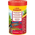 Корм SERA GRANURED Color Pellets for Carnivorous Fish цветные гранулы для плотоядных рыб 250мл (135г)
