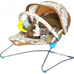 Стульчик-шезлонг BABY BOUNCER BEBABYBUS UC42 Coffee
