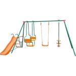 Купить Детский комплекс DFC с горкой MSGL-01 (качели) купить недорого низкая цена