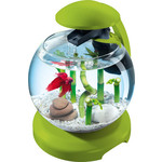 Аквариумный комплекс Tetra Cascade Globe Fresh Green Designer Nano Aquarium with Clear Water Tehnology 6,8л (зелёный)