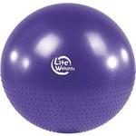 Купить Мяч гимнастический Lite Weights BB010-30 (75см, с насосом, фиолетовый) купить недорого низкая цена