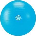 Купить Мяч гимнастический Lite Weights 1867LW (75см, антивзрыв, с насосом, голубой) купить недорого низкая цена