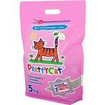 Наполнитель PrettyCat Euro Mix комкующийся с ароматом алоэ для кошек 5кг
