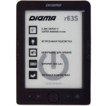 "Электронная книга Digma R63S 6"" Dark Gray"