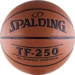 Купить Мяч баскетбольный Spalding TF-250 All Surface р.6 (74-532z)технические характеристики фото габариты размеры